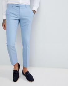 Голубые облегающие брюки Twisted Tailor wedding - Синий 1225907