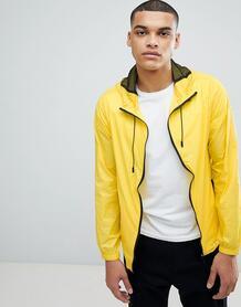Фестивальная куртка неоново-желтого цвета с контрастной молнией Anothe Another Influence 1187678