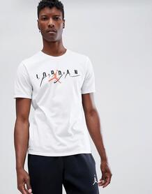 Белая футболка Jordan Flight 916136-101 - Белый 1208092