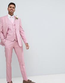Розовый приталенный пиджак River Island wedding - Розовый 1288859