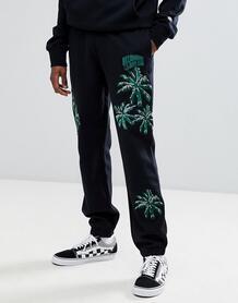 Черные джоггеры с вышитыми пальмами Billionaire Boys Club - Черный 1280416
