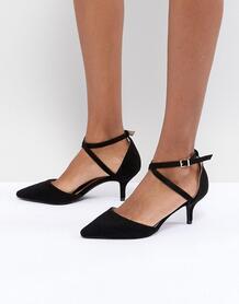 Туфли-лодочки на каблуке-рюмочке RAID LYLA - Черный 1228321