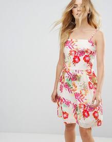 Платье с цветочным принтом Lavand - Мульти 1120548