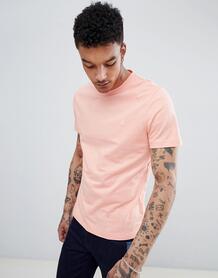 Розовая облегающая футболка с круглым вырезом и логотипом Original Pen Original Penguin 1306609
