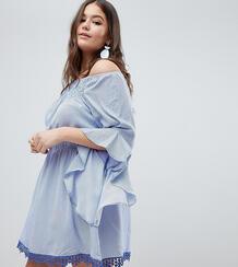 Платье в полоску AX Paris Plus - Мульти 1297043