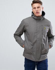 Серая куртка с капюшоном и закругленным краем Lyle & Scott - Серый 1264298