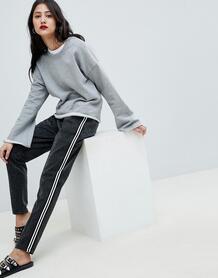 Спортивные штаны в полоску Vero Moda - Серебряный 1289459