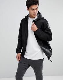 Водоотталкивающая куртка с капюшоном Tom Tailor - Черный 1220127