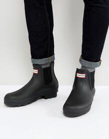 Черные ботинки челси Hunter original - Черный 1240886