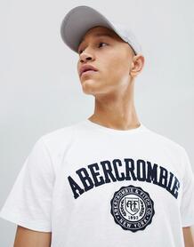 Белая футболка Abercrombie & Fitch - Белый Abercrombie& Fitch 1253802