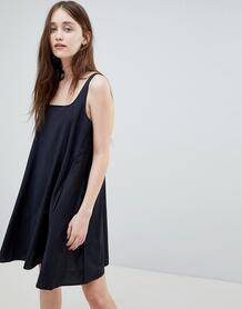 Платье-комбинация в полоску Wood Wood Jojo - Синий 1276047