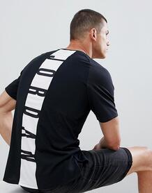 Черная футболка с принтом на спине Jordan Alpha Dry 889713-013 1208073