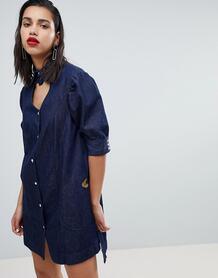 Джинсовое платье Vivienne Westwood Anglomania - Синий 1209847