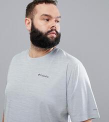 Серая футболка с логотипом Columbia Plus Size Zero Rules - Серый 1219410