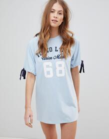 Платье-футболка Tokyo Laundry Lexi - Синий 1231025