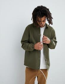 Спортивная куртка цвета хаки Mennace - Серый 1253703