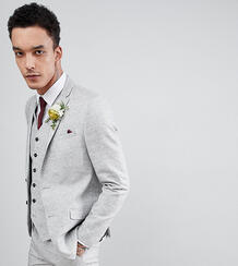Фактурный приталенный пиджак Heart & Dagger - Серый 1238728