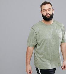 Зеленая футболка с логотипом Columbia Plus Size Zero Rules - Зеленый 1219407