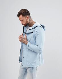 Фестивальная прорезиненная куртка Another Influence - Синий 1187668