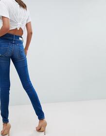Корректирующие талию зауженные джинсы Salsa Secret - Синий 1238130