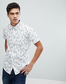 Рубашка с коротким рукавом и принтом Brave Soul - Белый 1174733