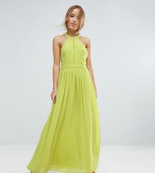 Платье макси с глубоким вырезом TD By True Decadence Petite - Зеленый 1056940