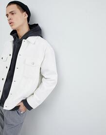 Белая джинсовая куртка Mennace - Белый 1254169