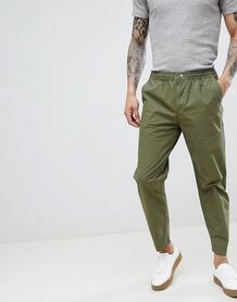 Суженные книзу брюки Selected Homme - Зеленый 1241091