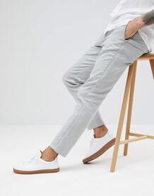 Зауженные брюки Selected Homme - Серый 1241026