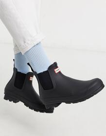 Черные ботинки челси Hunter original - Черный 1227810