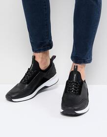 Черные кожаные кроссовки PS Paul Smith Mookie - Черный 1195430