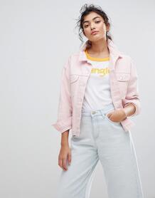 Джинсовая куртка Wrangler - Розовый 1232805