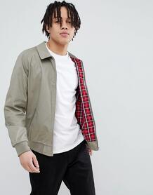 Светло-бежевая куртка Харрингтон ASOS DESIGN - Светло-бежевый 1139720