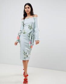 Платье с рукавами клеш True Violet - Мульти 1248790