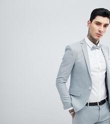 Пиджак супероблегающего кроя в ломаную клетку Heart & Dagger wedding 1180036