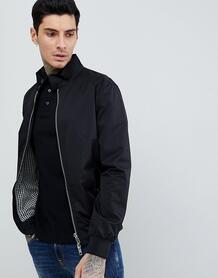 Черная куртка Харрингтон River Island - Черный 1281357