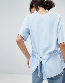 Блузка Selected - Синий 1155092
