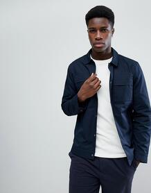 Куртка с карманами на груди Selected Homme - Темно-синий 1240458