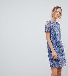 Платье-трапеция с вышивкой Dolly & Delicious Tall - Мульти 1181753