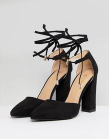 Туфли на блочном каблуке RAID Pamela - Черный 1214738