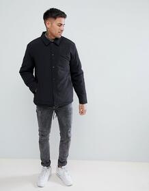Черная спортивная куртка с подкладкой из искусственного меха River Isl River Island 1269746