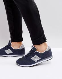 Темно-синие кроссовки New Balance 373 ML373NAY - Темно-синий 1151589