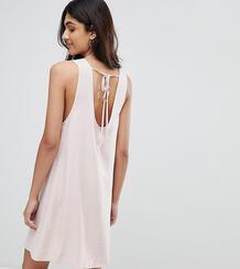 Платье А-силуэта без рукавов с завязкой на спине Glamorous Tall 1223230