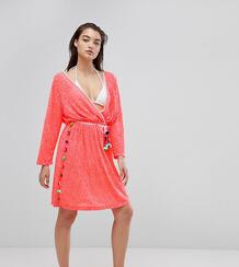 Пляжное платье Pitusa Santorini - Розовый 1158194