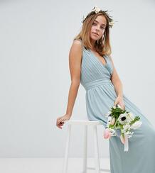 Платье макси с запахом TFNC Petite - Зеленый 1181787