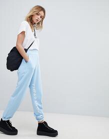 Спортивные штаны с логотипом Cheap Monday - Синий 1230308