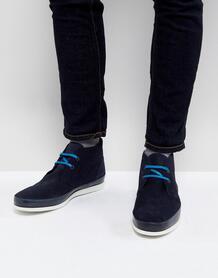 Темно-синие замшевые ботинки чукка PS Paul Smith Cleon - Темно-синий 1195399