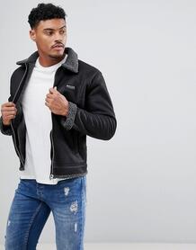 Черная куртка из искусственной овчины Nicce - Черный Nicce London 1170370