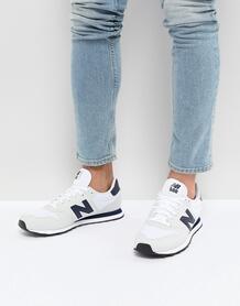 Белые кроссовки New Balance 500 - Белый 1157082