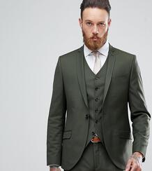 Приталенный пиджак Heart & Dagger - Зеленый 1180072